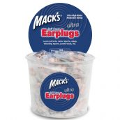 MACK'S ULTRA SOFT FOAM PLUGS 32DB - 100 Pair Tub